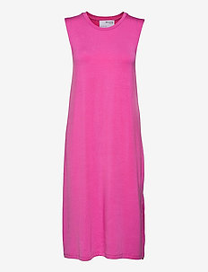 SLFGIA SL MIDI DRESS - robes d'été - rose violet