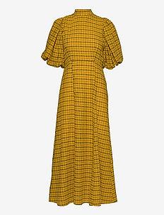 SLFCHECKIE 2/4 ANKLE DRESS G - sommerkjoler - arrowwood