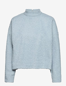 SLFHALLI LS TOP EX - mid layer jackets - cashmere blue
