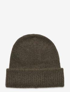SLFLINNA-MIA KNIT BEANIE B - kapelusze - kalamata