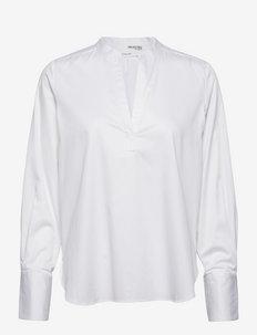 SLFENJA LS TOP - langermede bluser - bright white