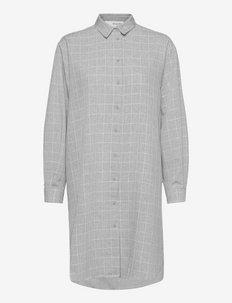 SLFHELGA LS LONGHIRT - chemises à manches longues - grey melange