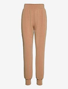 SLFTENNY  HW SWEAT PANT - jogginghosen - tannin