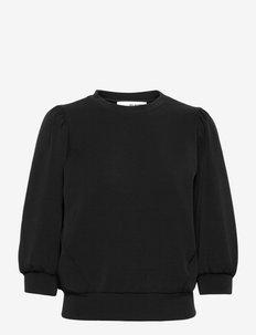 SLFTENNY 3/4 SWEAT TOP - sweatshirts - black