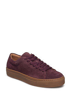 SFDONNA SUEDE NEW SNEAKER - VINEYARD WINE