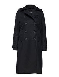 SLFTONA WOOL COAT B - BLACK
