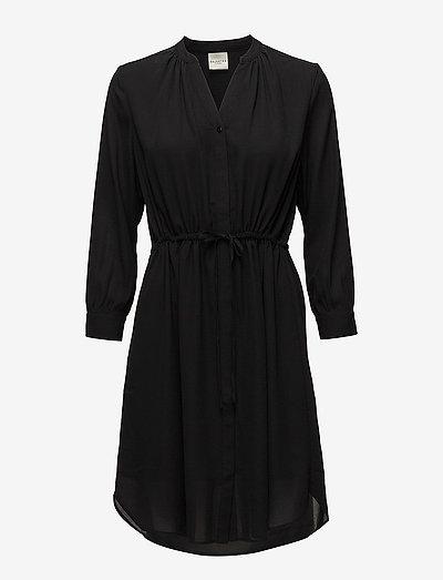SLFDAMINA 7/8 DRESS - kesämekot - black