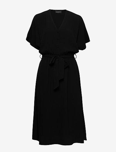 SLFVIENNA SS SHORT DRESS B - midi kjoler - black