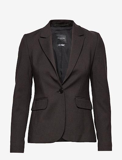 SLFSIRI-MUSE LSLAZER - tailored blazers - black
