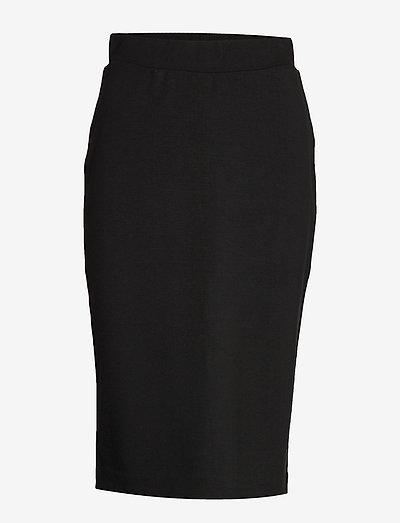 SLFSHELLY MW PENCIL SKIRT B NOOS - midi nederdele - black