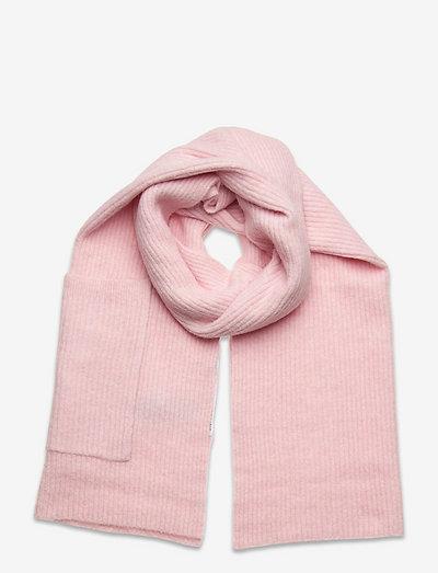 SLFLINNA-MIA KNIT POCKET SCARF B - winterschals - chalk pink