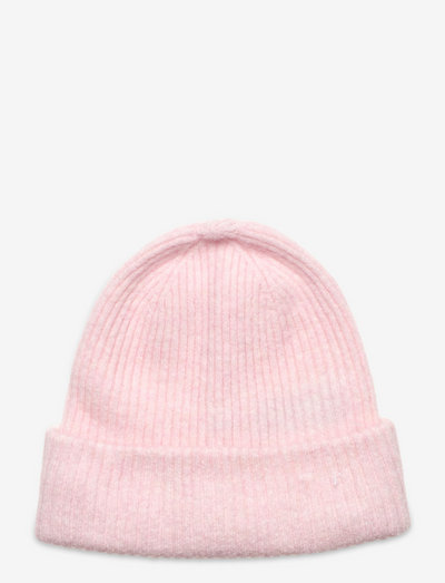 SLFLINNA-MIA KNIT BEANIE B - mützen - chalk pink
