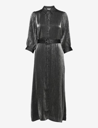 SLFELKE-FLORENTA 3/4 ANKLE DRESS B - hverdagskjoler - black