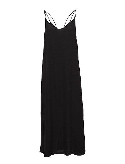 SFTORA STRAP DRESS H - BLACK