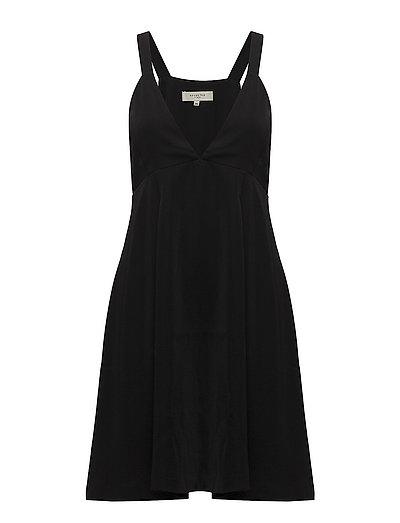 SFKASSIA SPENCER DRESS - BLACK