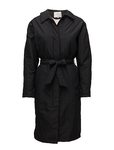 SFALFIA LONG JACKET - BLACK