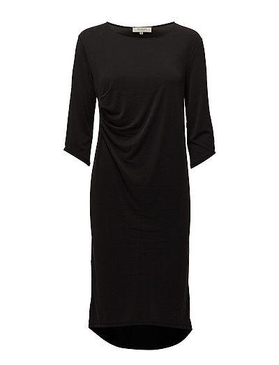 SFNOLA 3/4 DRESS - BLACK