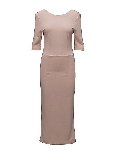 SFUMA 3/4 DRESS - SHADOW GRAY