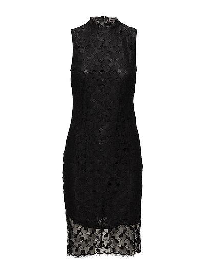 SFLACEY SL DRESS - BLACK