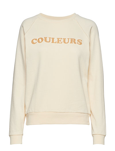 SLFCOULE LS SWEAT B - SAND DOLLAR