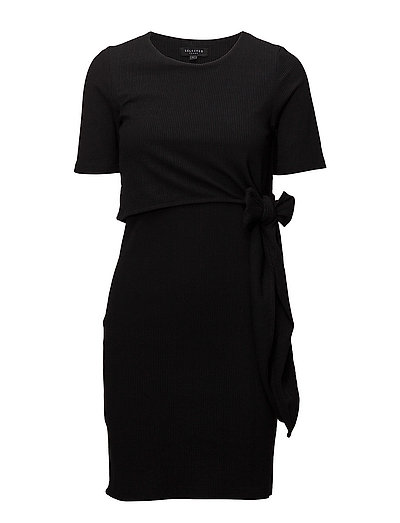 SLFDIMA SS DRESS B - BLACK