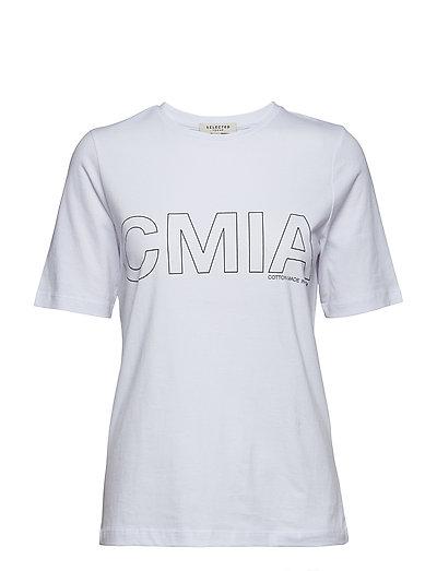 SLFGRACE SS TEE  - CMIA W - BRIGHT WHITE