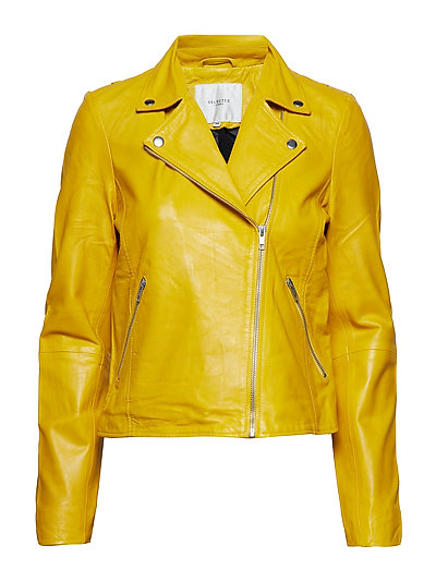 SFMARLEN LEATHER JACKET SOLAR POWER - SOLAR POWER