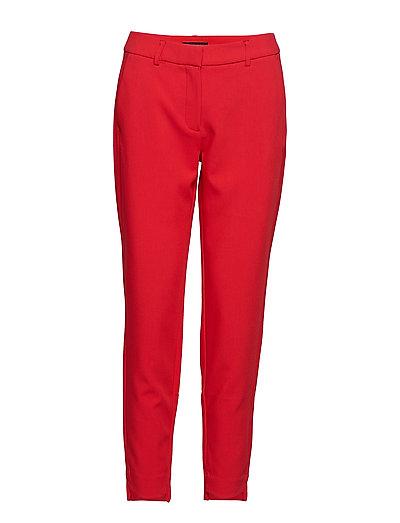 SLFAMILA MW PANT TRUE RED B - TRUE RED