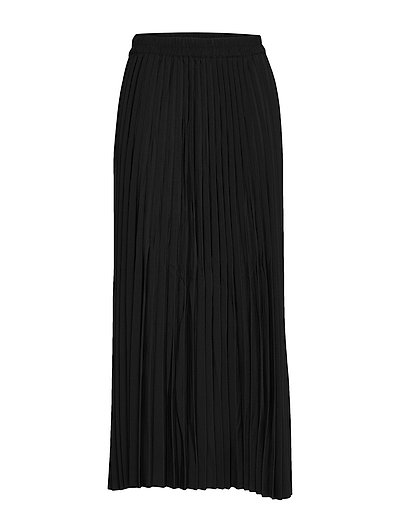 Slfalexis Mw Midi Skirt B Noos Langes Kleid Schwarz SELECTED FEMME