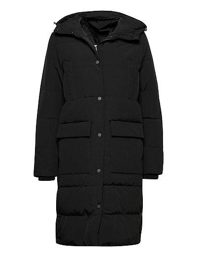 Slfjenny Down Coat B Gefütterter Mantel Schwarz SELECTED FEMME | SELECTED SALE