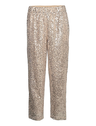 Slflucille Mw Ankle Sequins Pant B Hosen Casual Grau SELECTED FEMME | SELECTED SALE