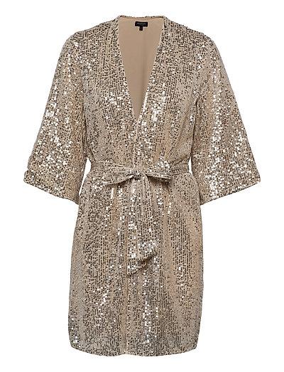 Slflucille 3/4 Sequins Kimono B Kimonos Grau SELECTED FEMME | SELECTED SALE