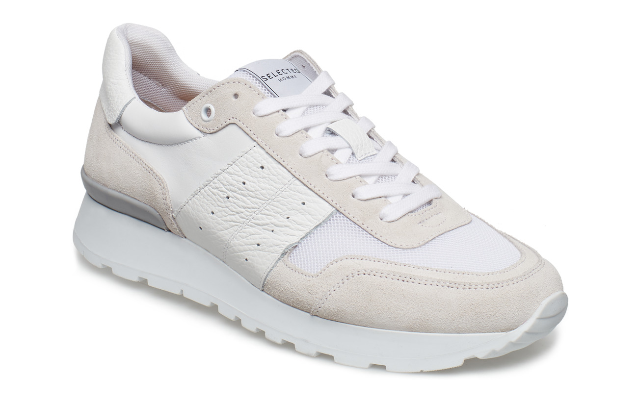 Selected Homme SLHFRANK MIX RUNNER W - WHITE