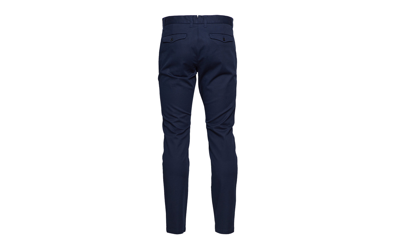 carlo Homme Black Pants Selected Noos Slhslim B T0wvWqFx