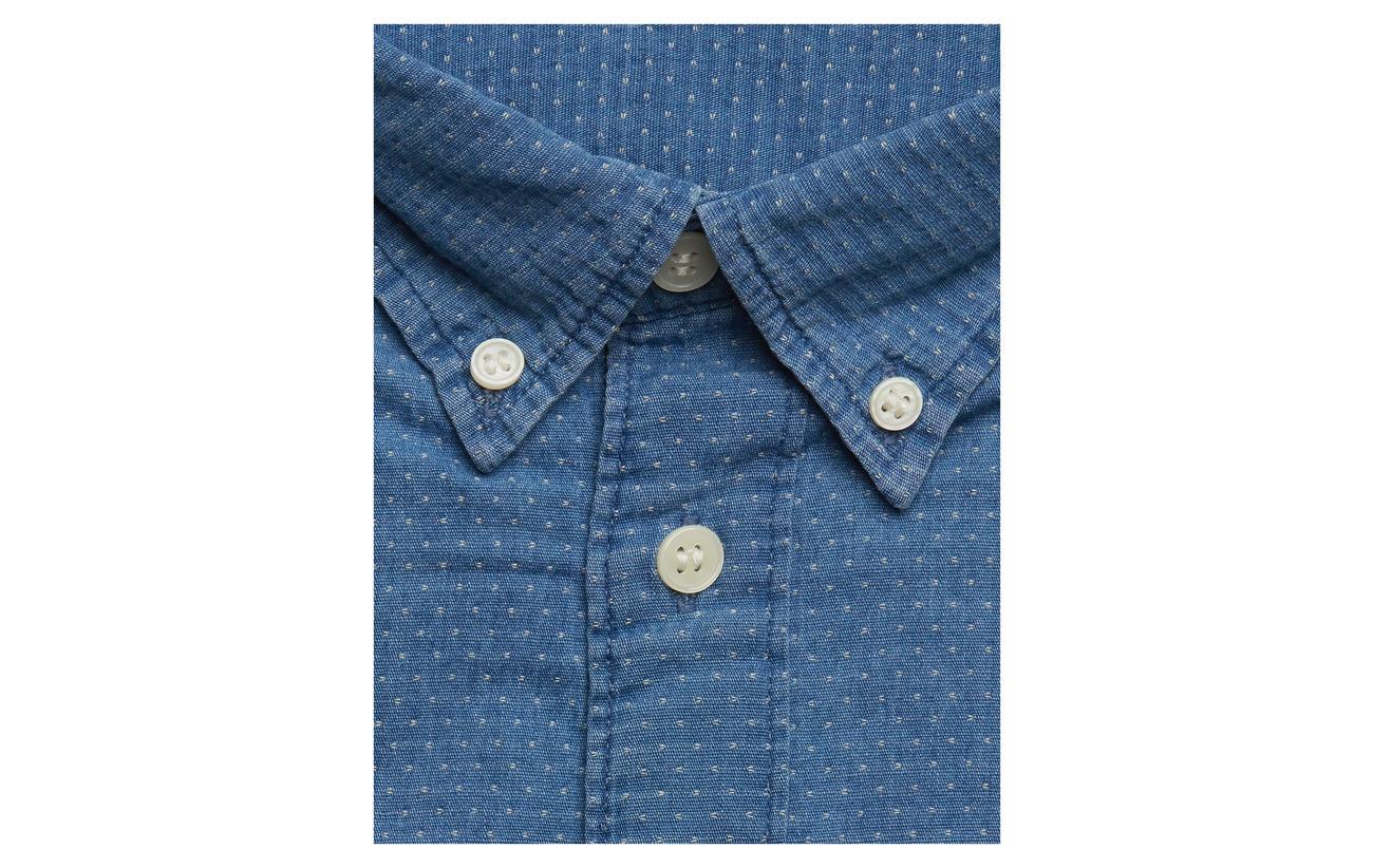Mix W Dark Shirt Slhslimnolan pre Blue Ls Homme Selected UFz7AnBB