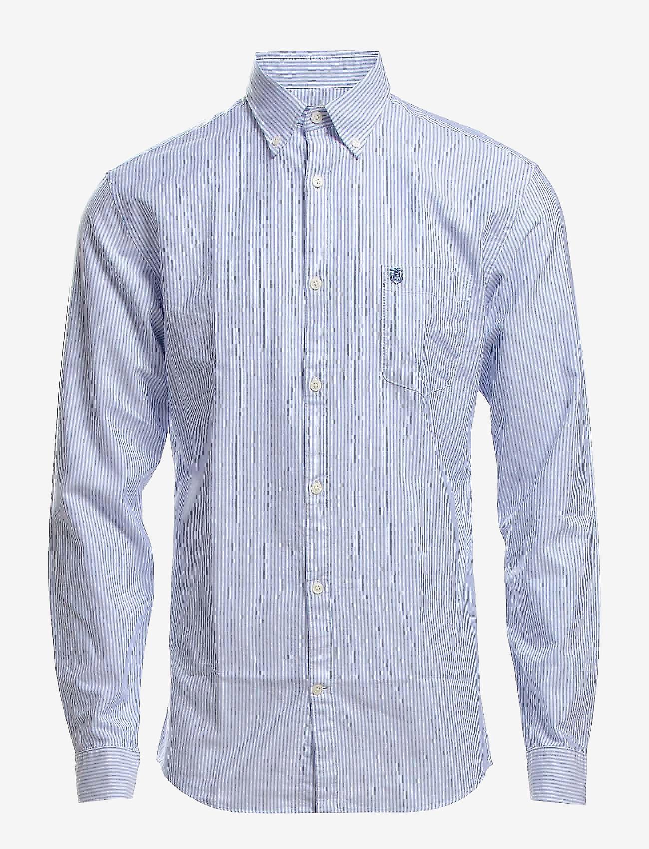 Selected Homme - Collect shirt ls r   H - ikdienas krekli - air blue - 0