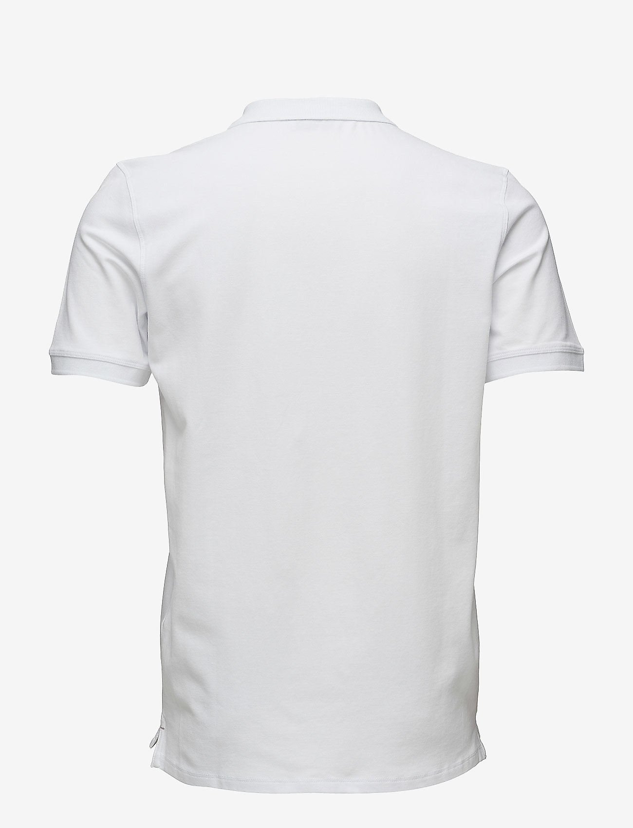 Selected Homme - SHDARO SS EMBROIDERY POLO NOOS - lyhythihaiset - bright white - 1