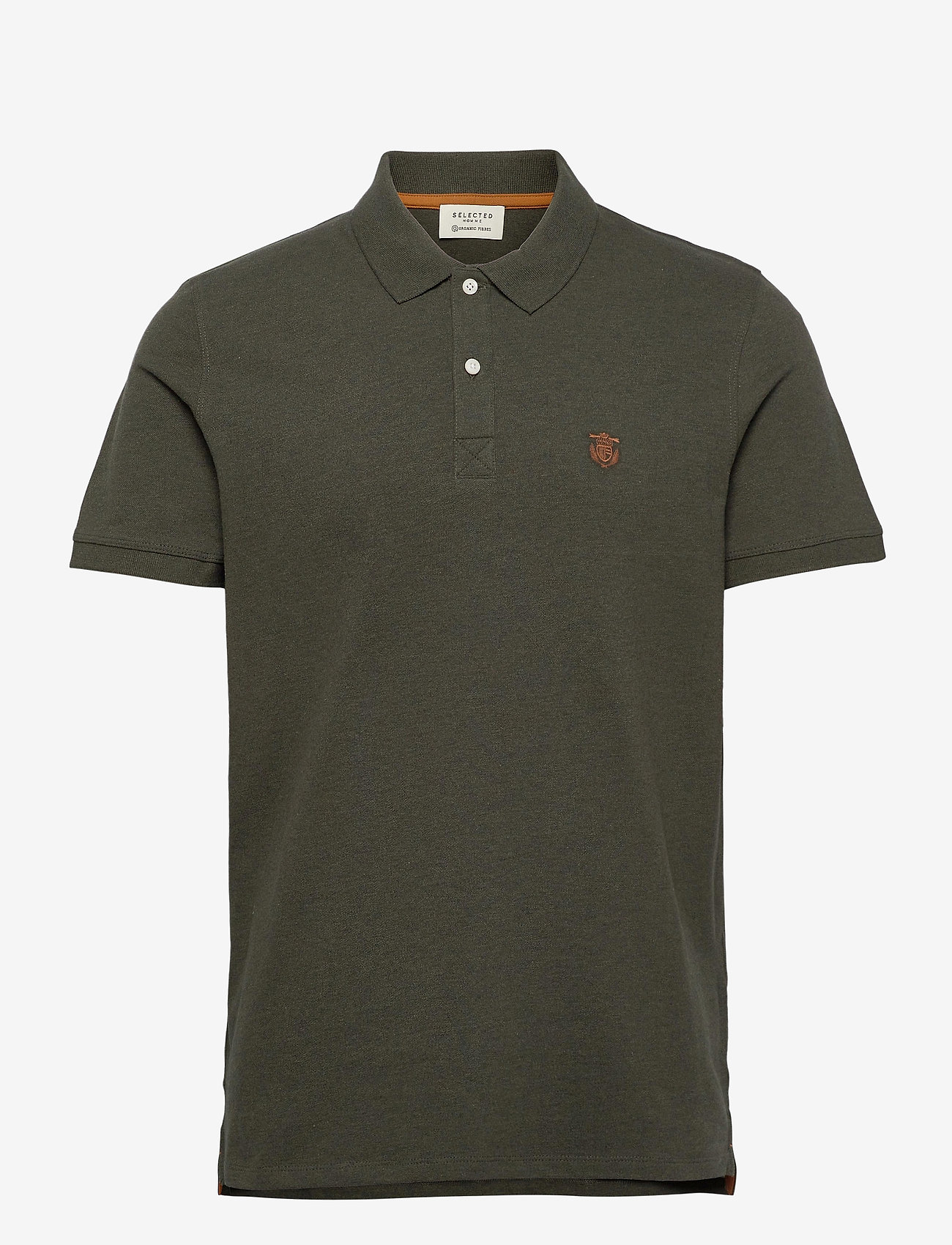 Selected Homme - SHDARO SS EMBROIDERY POLO NOOS - lyhythihaiset - rosin - 0