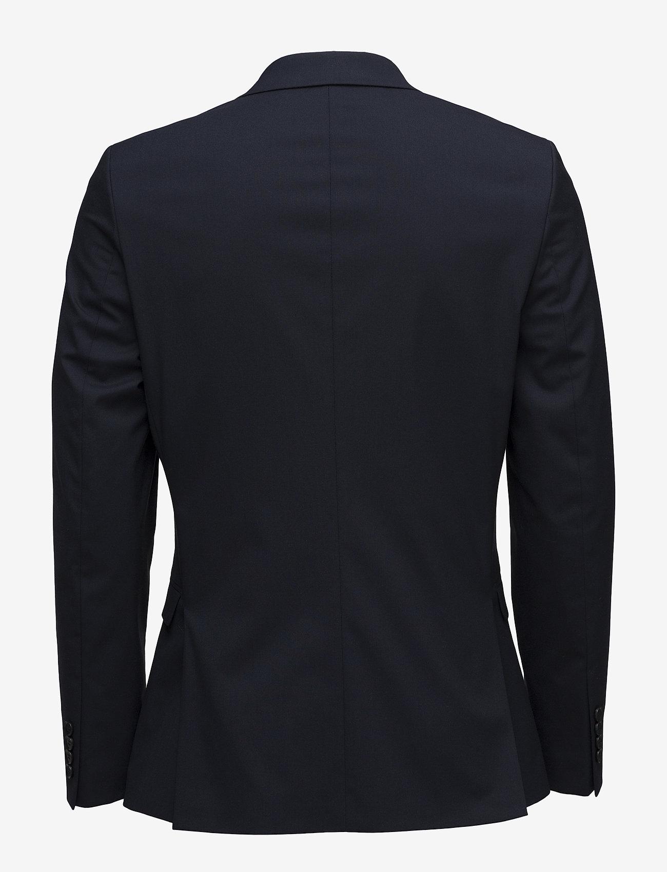 Selected Homme - SLHSLIM-MYLOLOGAN NAVY BLAZER B - single breasted blazers - navy blazer - 1