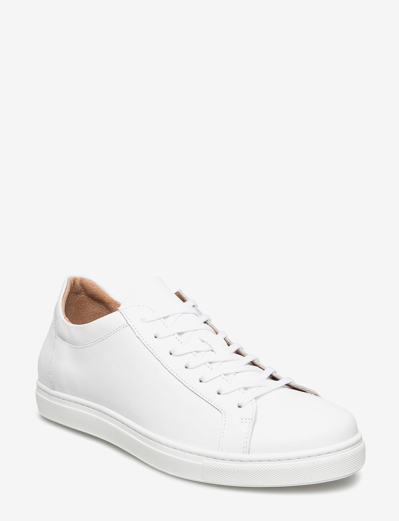 Selected Homme - SLHDAVID SNEAKER W NOOS - laag sneakers - white - 0