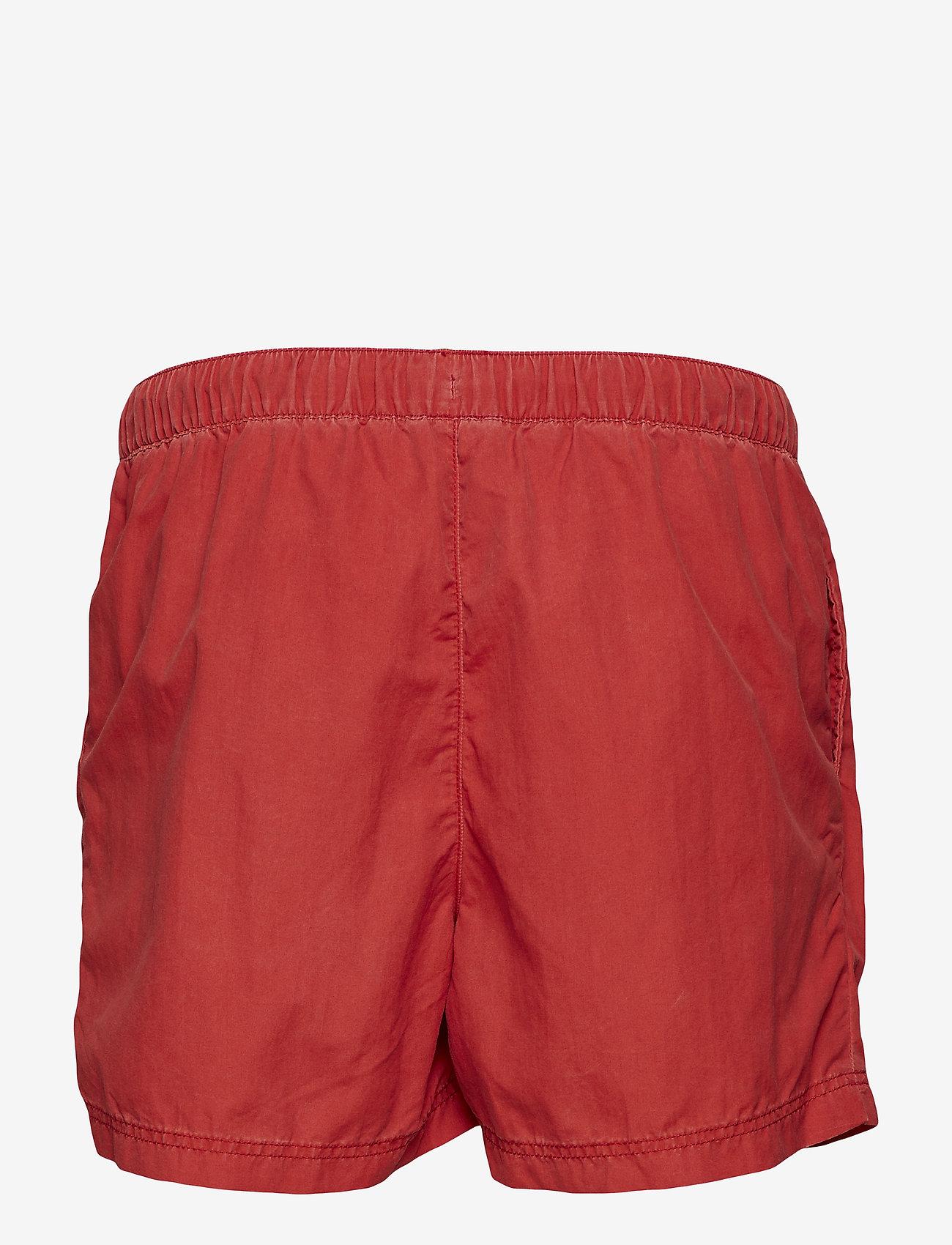 Selected Homme - SHHCLASSIC WASHED SWIMSHORTS - swim shorts - pompeian red