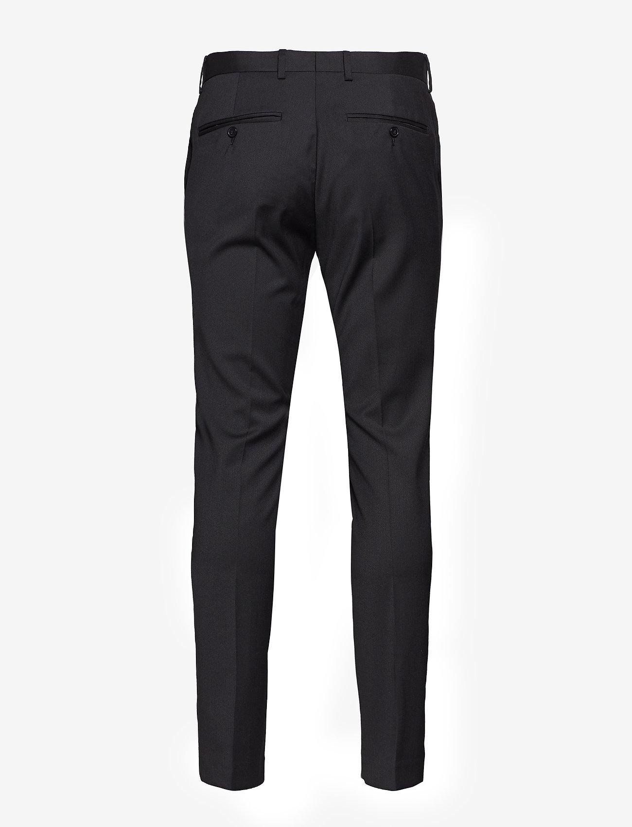 Selected Homme - SLHSLIM-MYLOBILL BLACK TRS B NOOS - suitbukser - black - 1