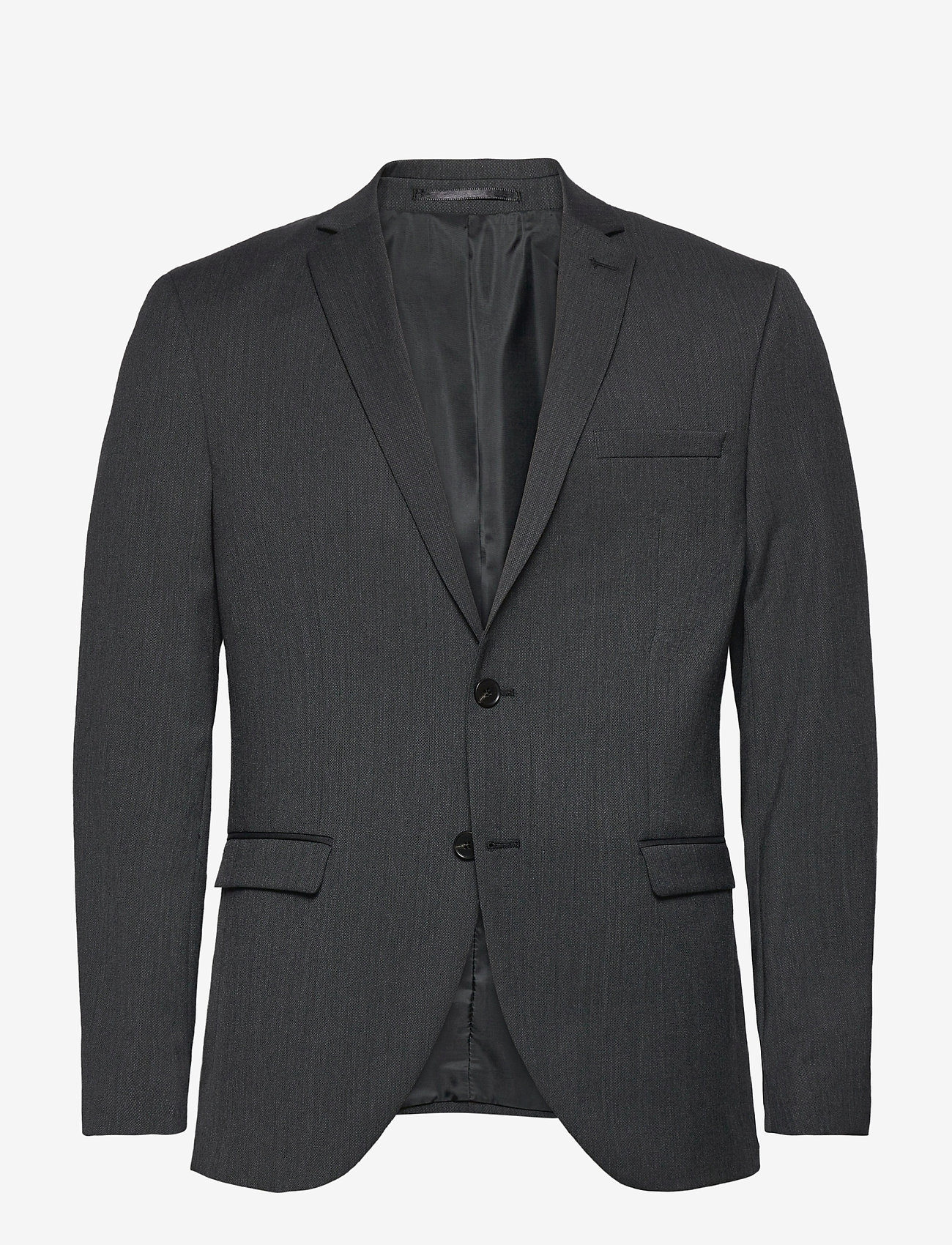 Selected Homme - SLHSLIM-MYLOBILL GREY BLZ B - single breasted blazers - grey - 0