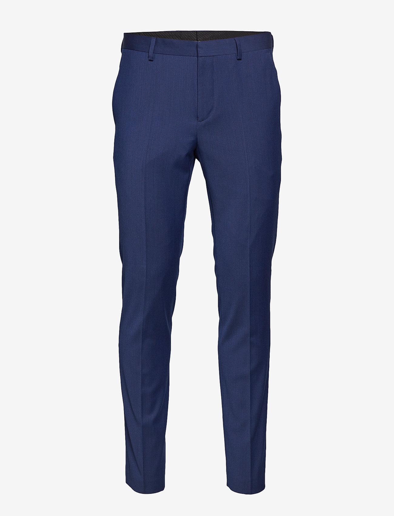 Selected Homme - SLHSLIM-MYLOBILL BLUE TRS B NOOS - suitbukser - blue depths - 0