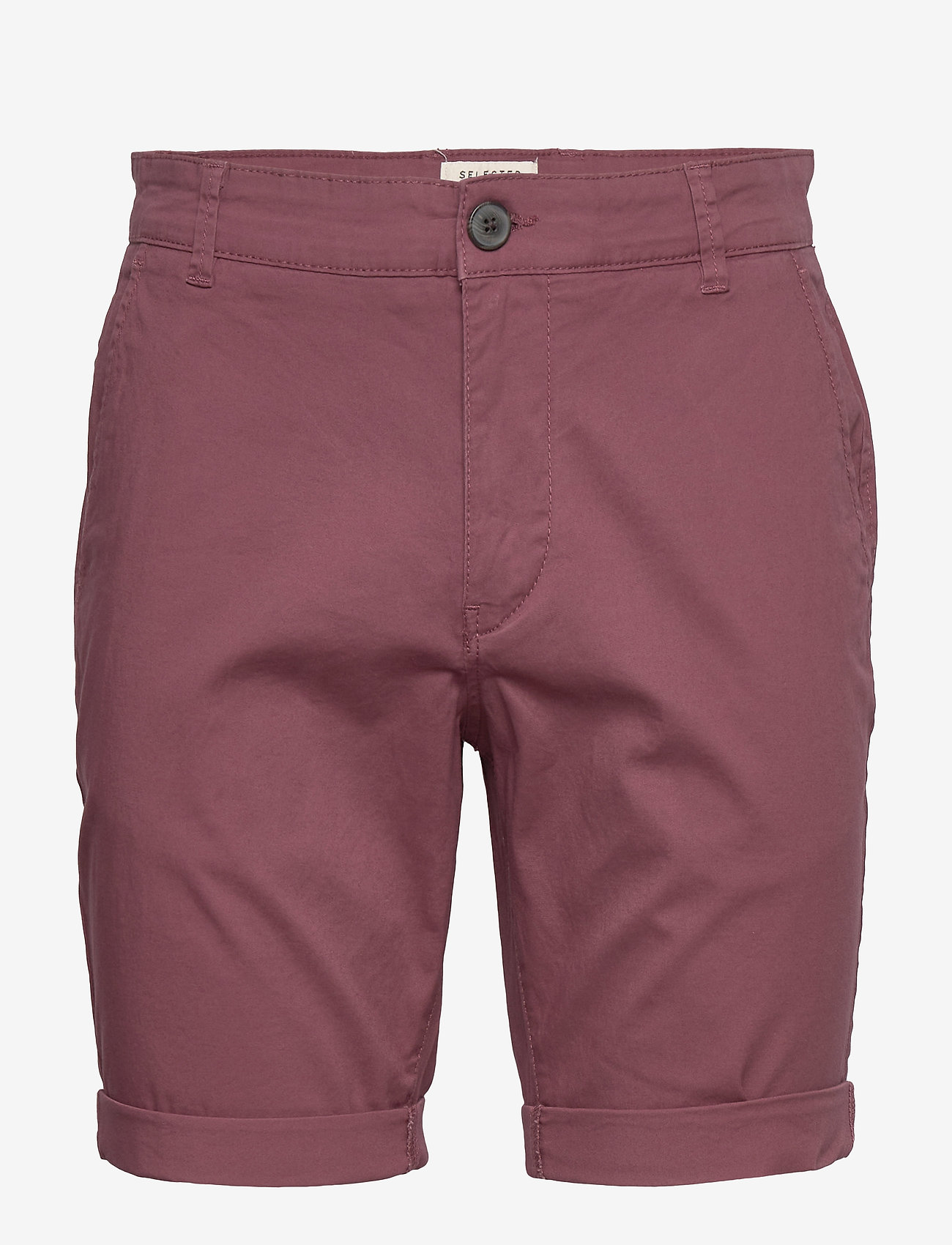 Selected Homme - SLHSTRAIGHT-PARIS SHORTS W NOOS - chino's shorts - wild ginger - 0