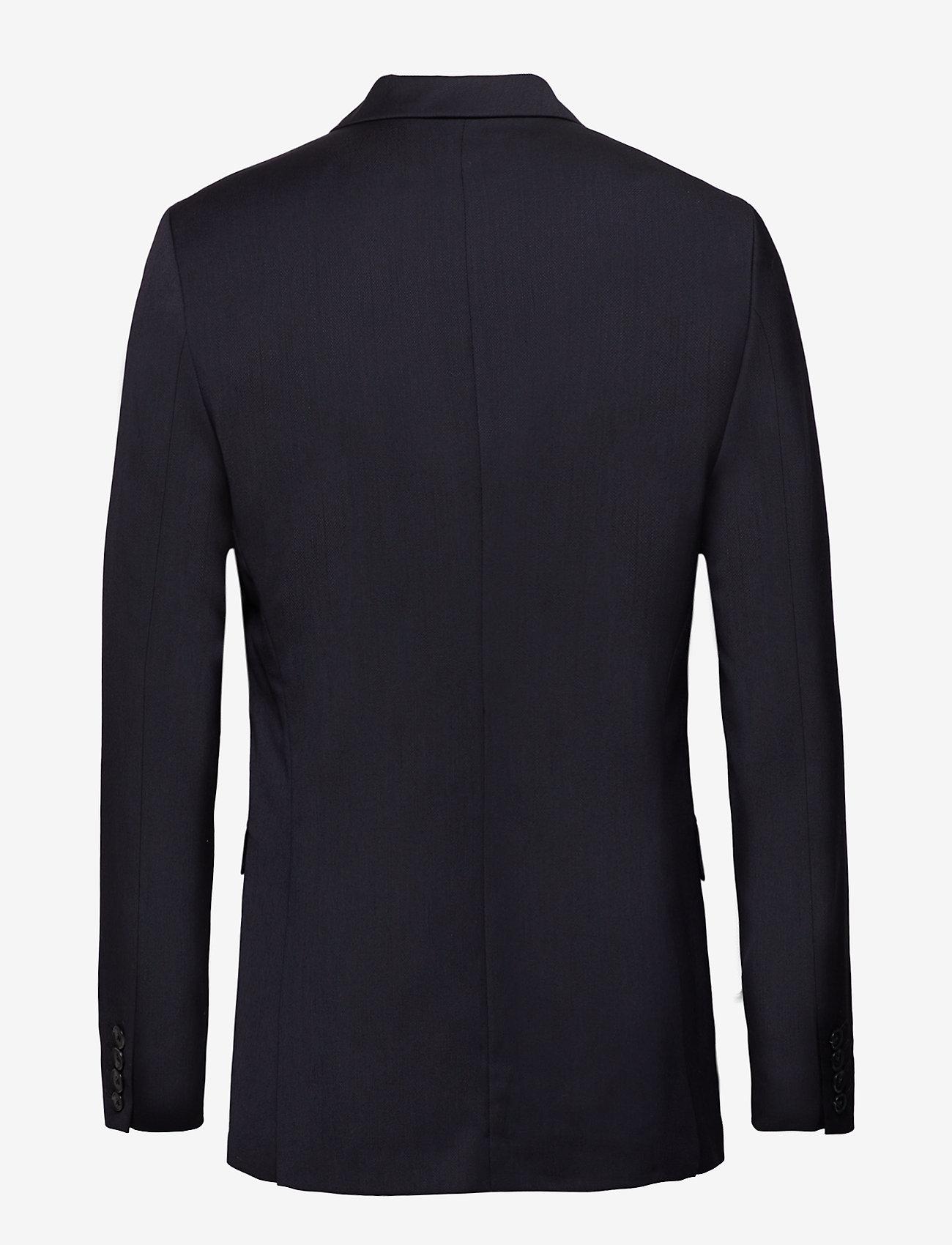 Selected Homme - SLHSLIM-MYLOBILL NAVY BLAZER B - single breasted blazers - navy blazer - 1
