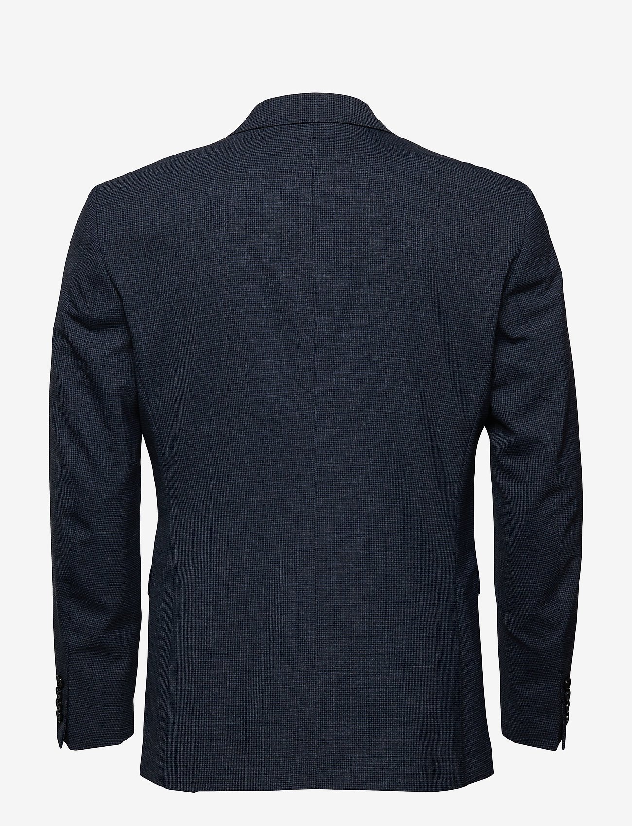 Selected Homme - SLHSLIM-BUFFALONOAH BLUE CHK BLZ B NOOS - single breasted suits - blue depths