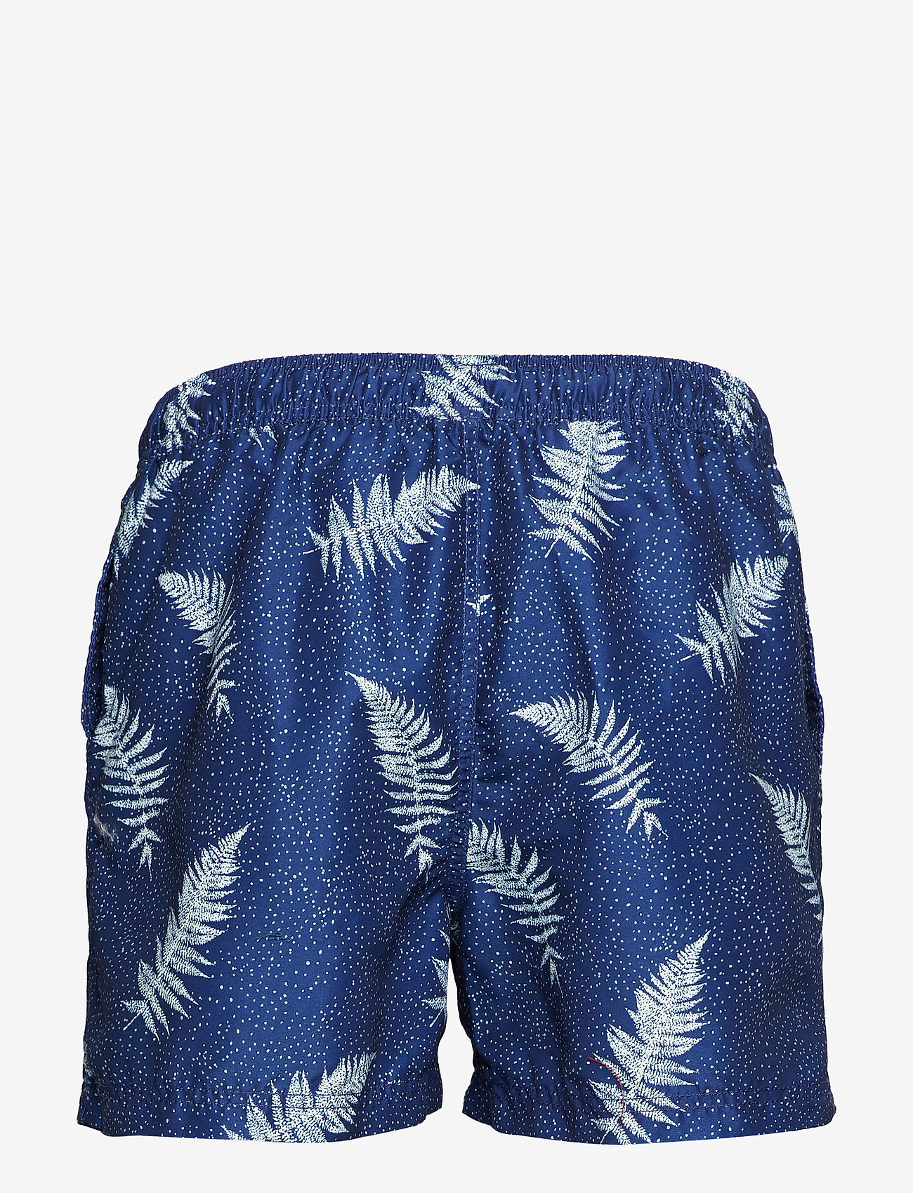 Selected Homme - SLHCLASSIC AOP SWIMSHORTS W - badehosen - dark sapphire - 1
