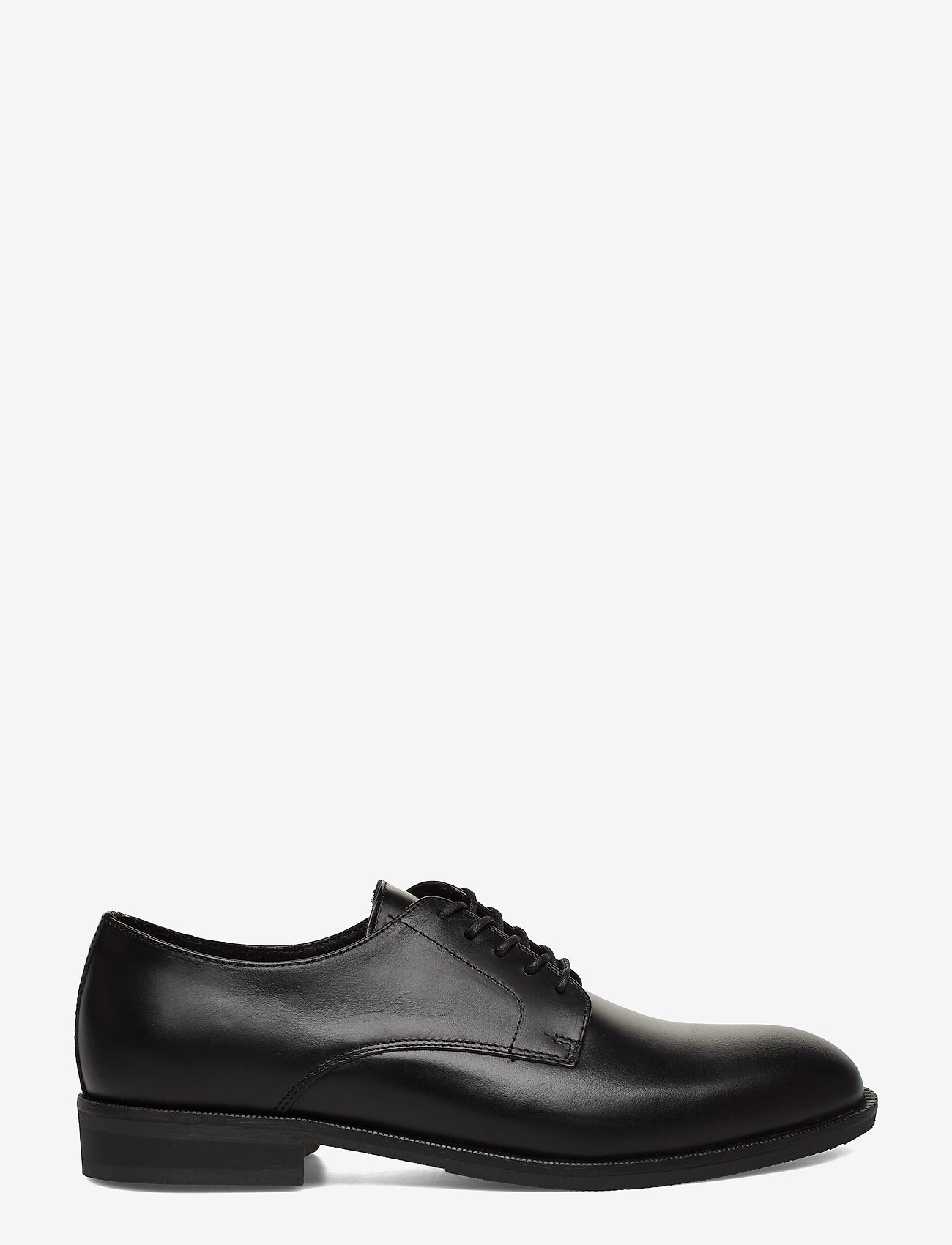 Selected Homme - SLHLOUIS LEATHER DERBY SHOE B NOOS - veterschoenen - black - 1