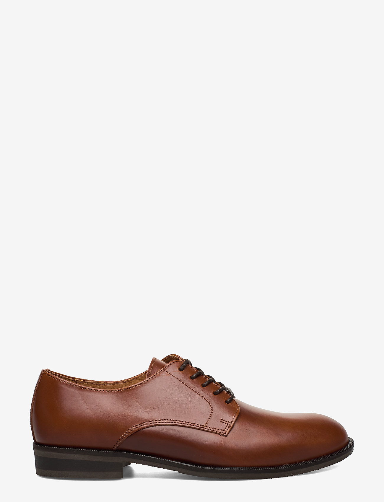 Selected Homme - SLHLOUIS LEATHER DERBY SHOE B NOOS - snøresko - cognac - 1
